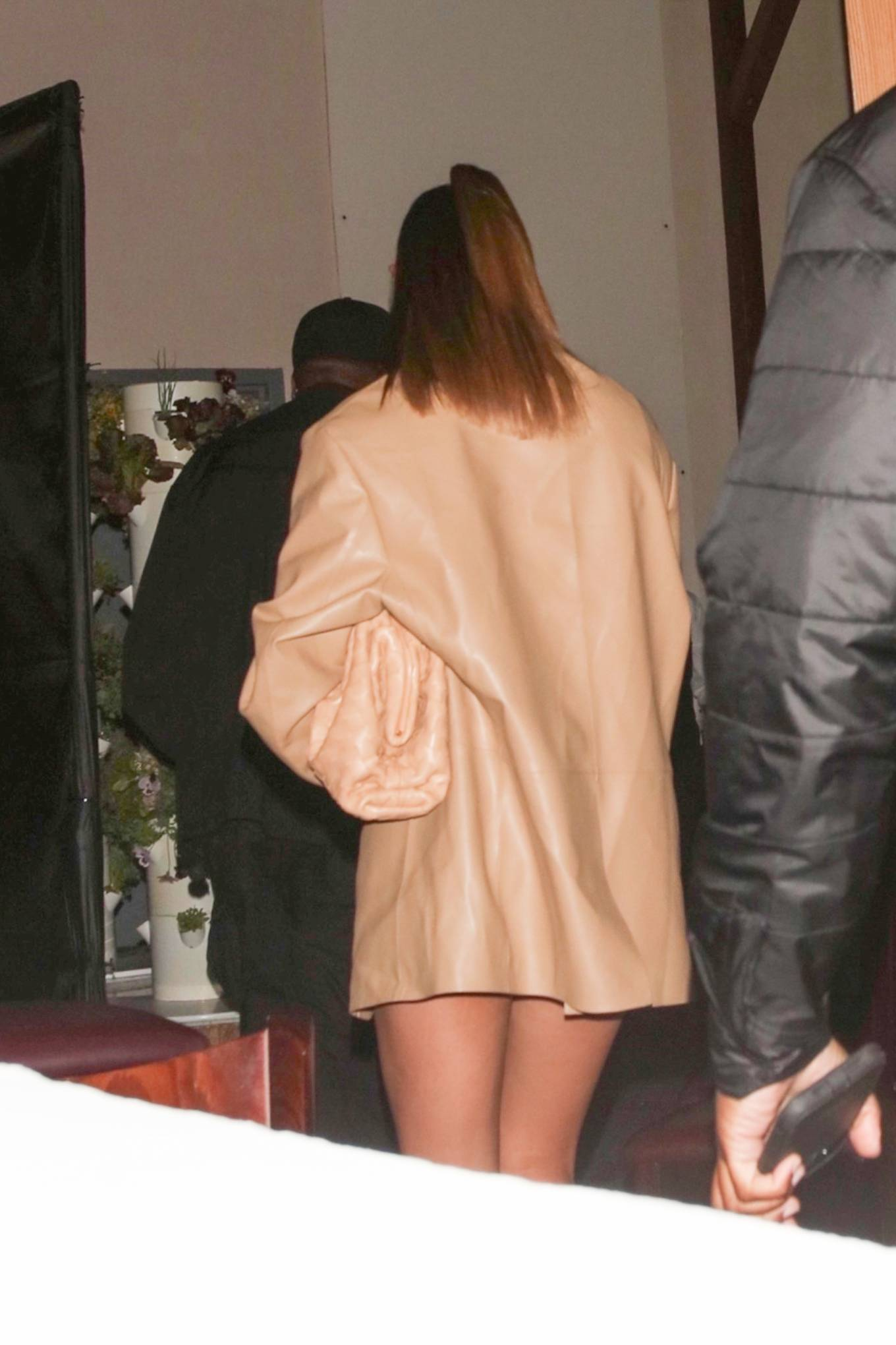 Haley Bieber 2021 : Haley Bieber – Looks chic for date night in West Hollywood-04