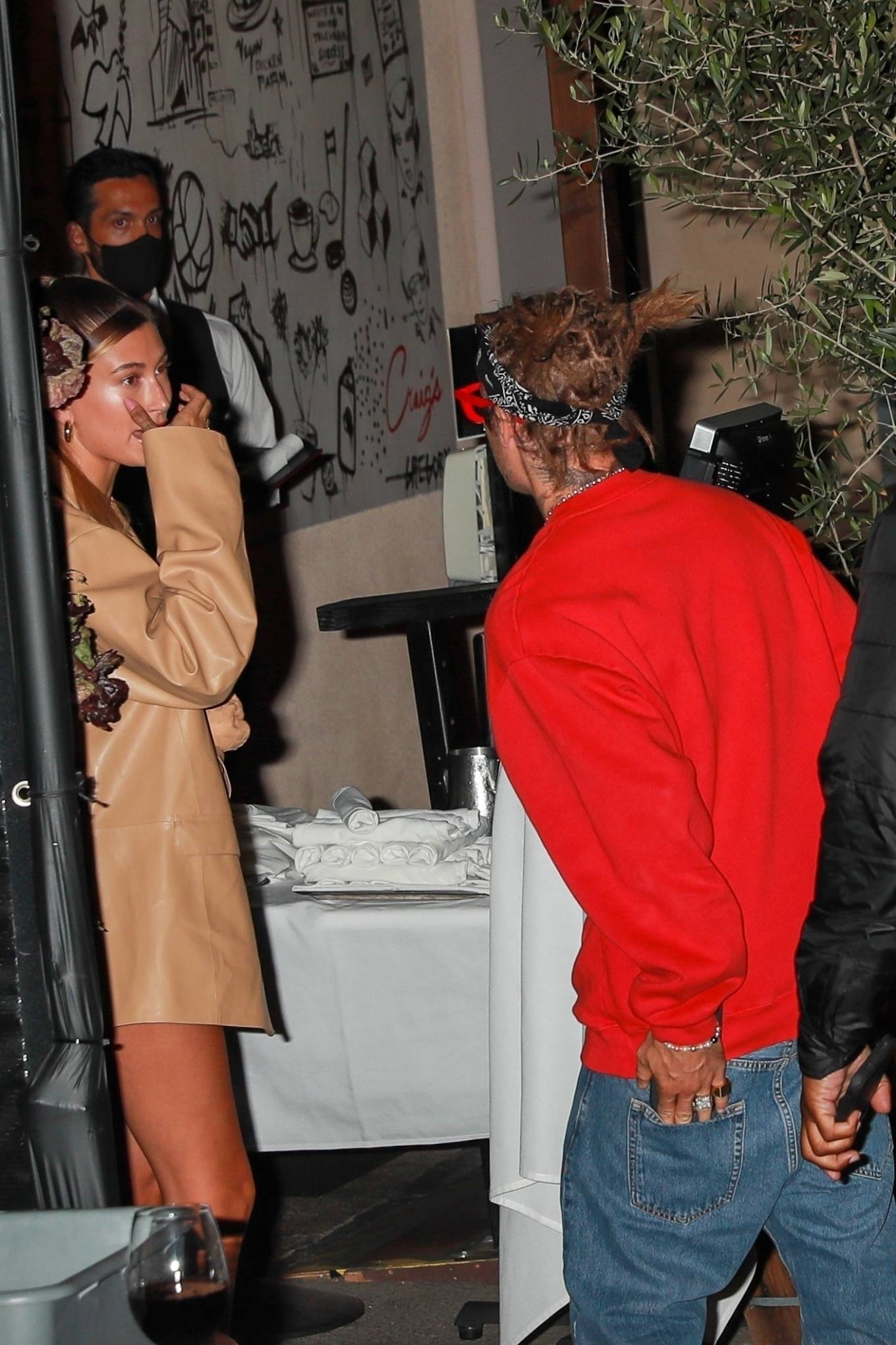 Haley Bieber 2021 : Haley Bieber – Looks chic for date night in West Hollywood-05