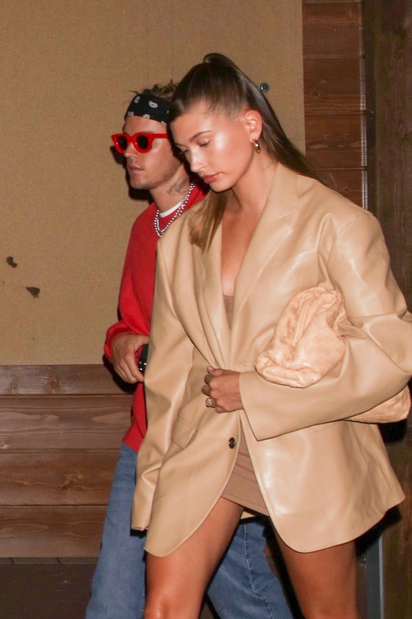 Haley Bieber 2021 : Haley Bieber – Looks chic for date night in West Hollywood-13