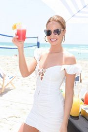 Haley Kalil - Sports Illustrated Mix Off at The Model Mixology Competition in Miami Beach