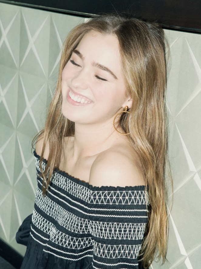 Haley Lu Richardson - Popular TV Photoshoot 2016