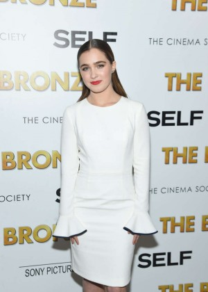 Haley Lu Richardson - 'The Bronze' Screening in NYC