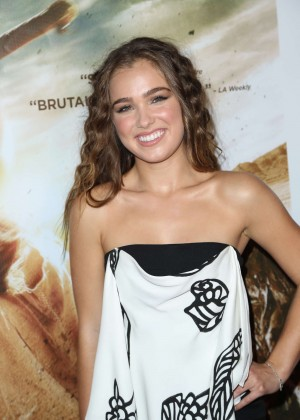 Haley Lu Richardson - 'The Last Survivors' Premiere in LA