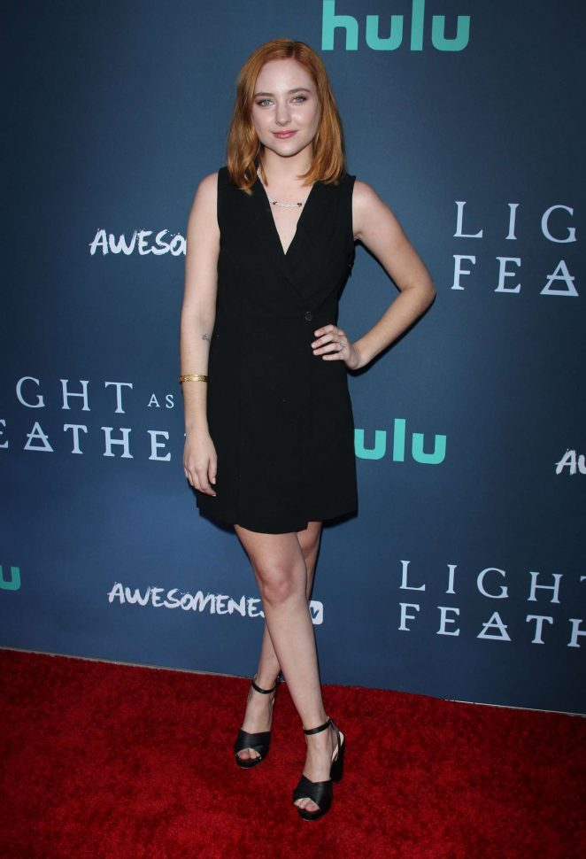 Haley Ramm – 'Light as a Feather' Premiere in Santa Monica