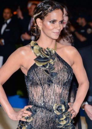 Halle Berry - 2017 MET Costume Institute Gala in NYC