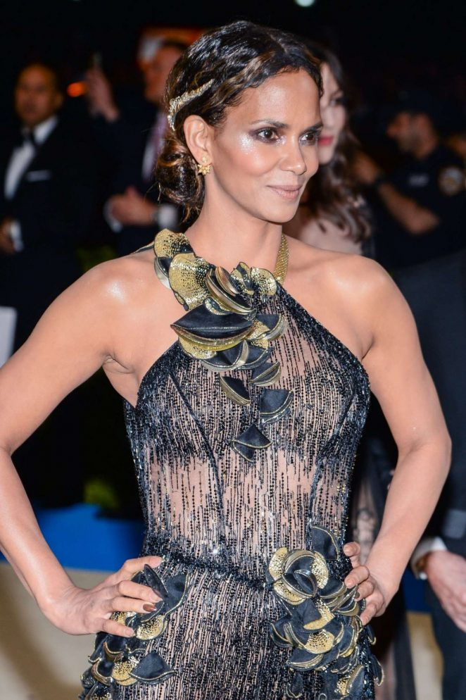 Halle Berry - 2017 MET Costume Institute Gala in NYC