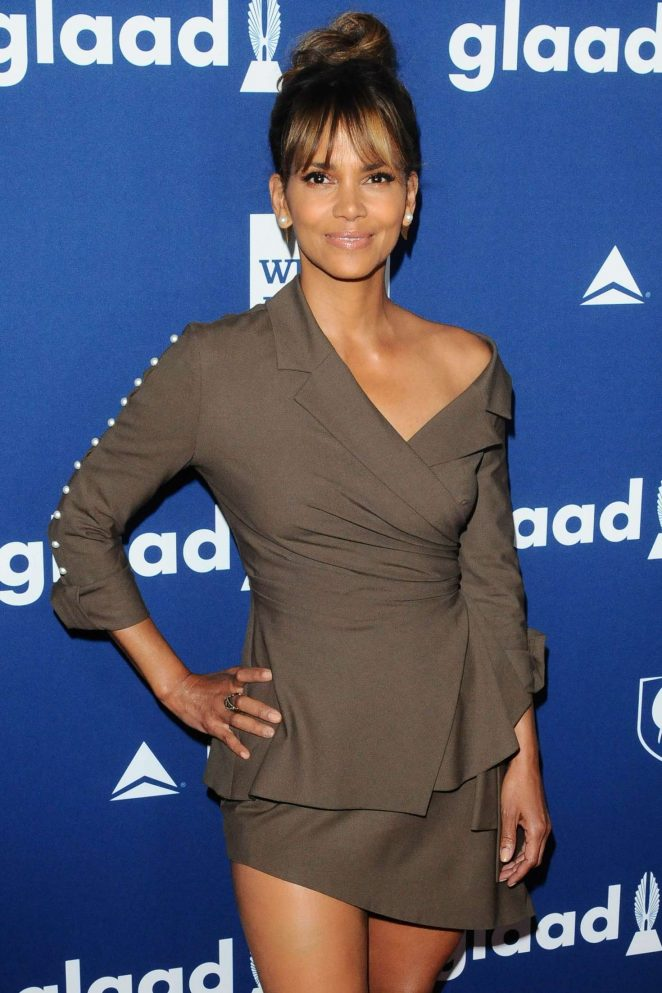 Halle Berry – 2018 GLAAD Media Awards in Los Angeles