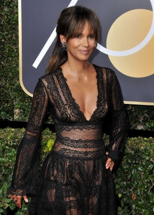 Halle Berry - 2018 Golden Globe Awards in Beverly Hills