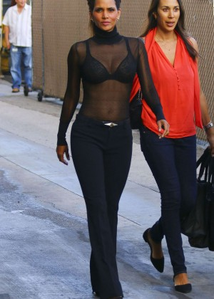 Halle Berry Hot at Jimmy Kimmel Live -10
