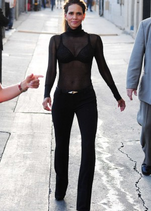 Halle Berry Hot at Jimmy Kimmel Live -12