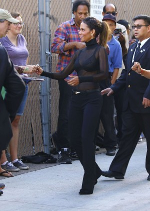 Halle Berry Hot at Jimmy Kimmel Live -15