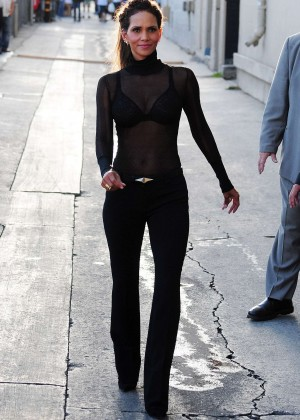 Halle Berry Hot at Jimmy Kimmel Live -16