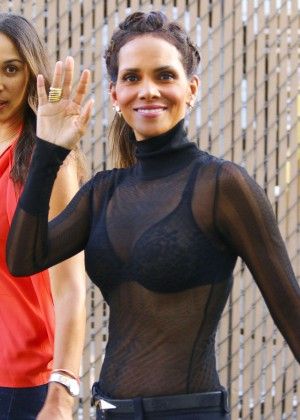 Halle Berry Hot at Jimmy Kimmel Live -24