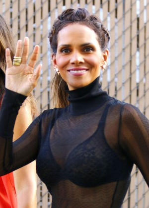 Halle Berry Hot at Jimmy Kimmel Live -25