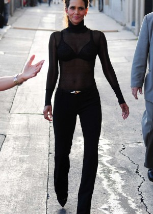 Halle Berry Hot at Jimmy Kimmel Live -28