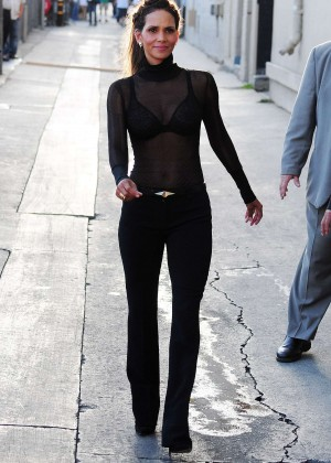 Halle Berry Hot at Jimmy Kimmel Live -34
