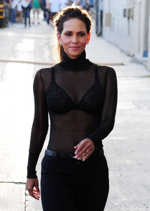 Halle Berry Hot at Jimmy Kimmel Live -41