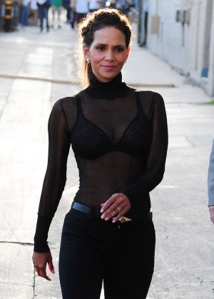 Halle Berry Hot at Jimmy Kimmel Live -42