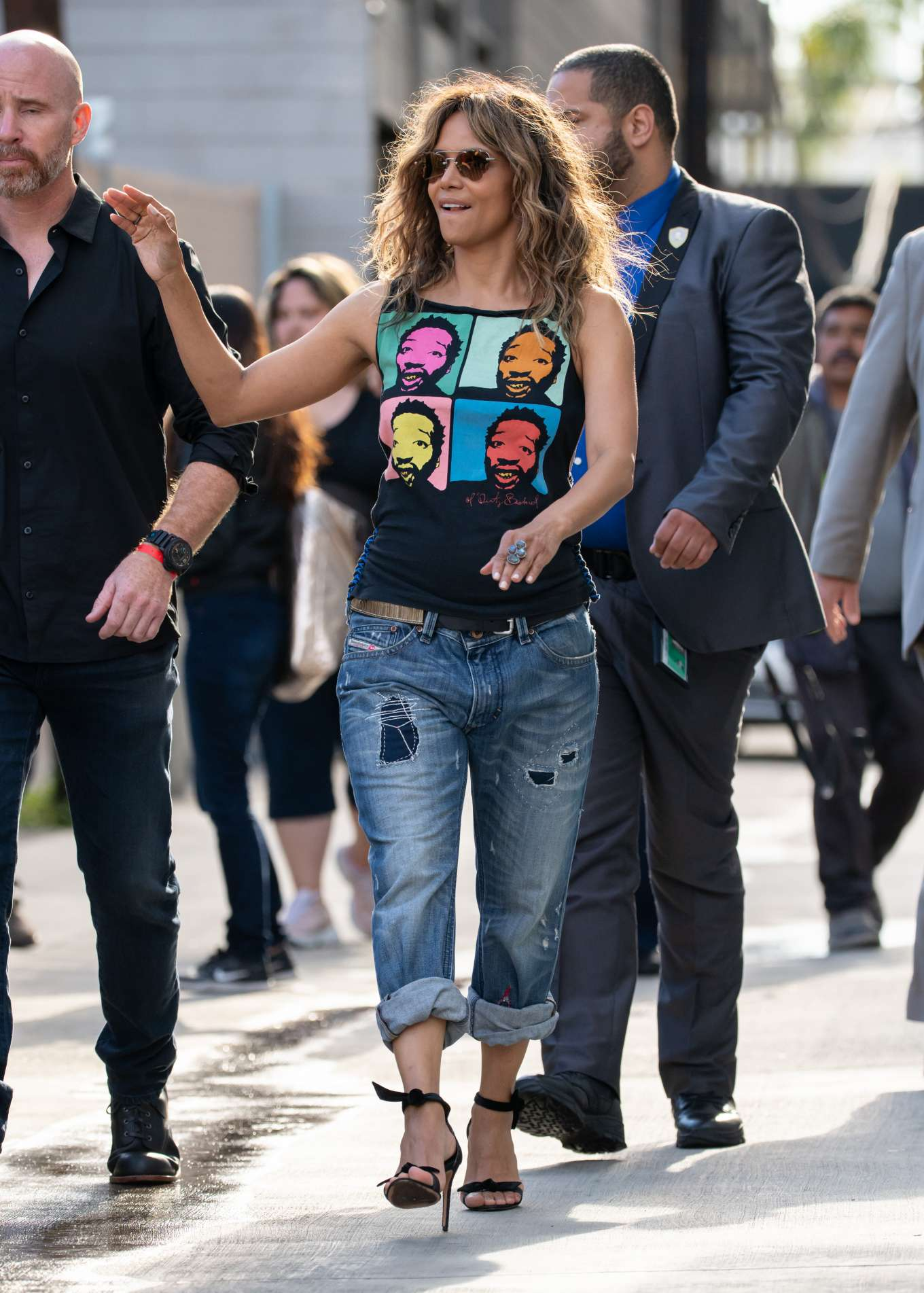 Halle Berry 2019 : Halle Berry: Arrives at Jimmy Kimmel Live-06