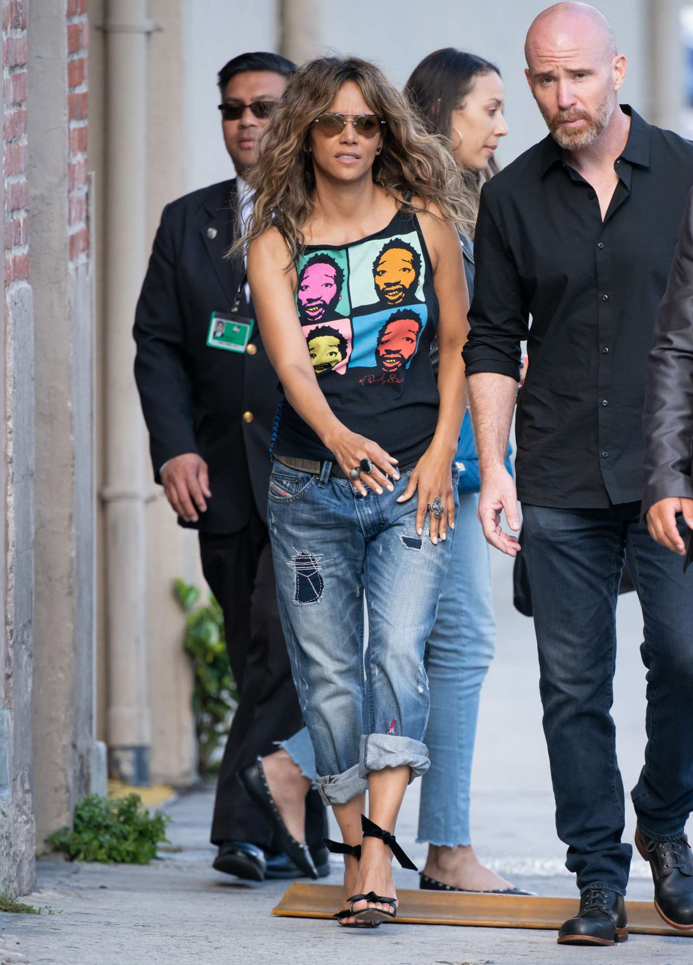 Halle Berry 2019 : Halle Berry: Arrives at Jimmy Kimmel Live-09