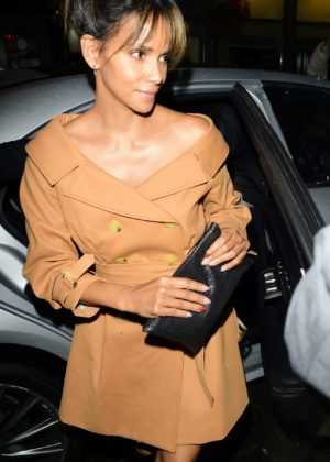Halle Berry - Arrives at Love Magazine x Miu Miu Party at 2017 London Fashion Week