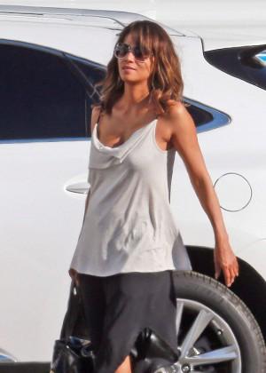 Halle Berry - 'Extant' Set in LA