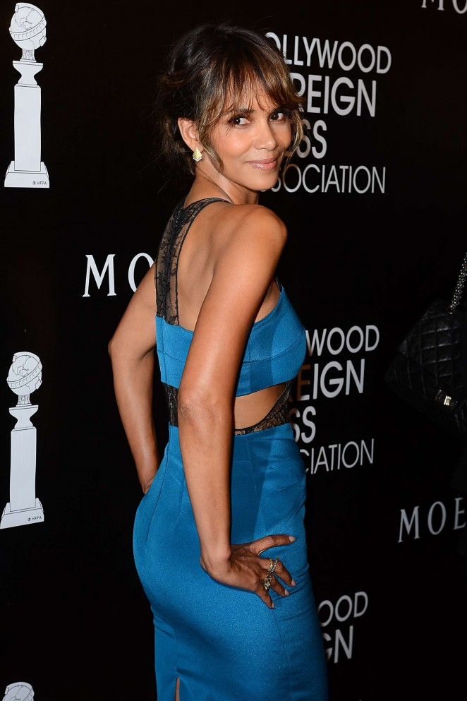Halle Berry - 2015 HFPA Hosts Annual Grants Banquet in NYC