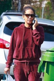Halle Berry in Sweatsuit - Out in Los Angeles