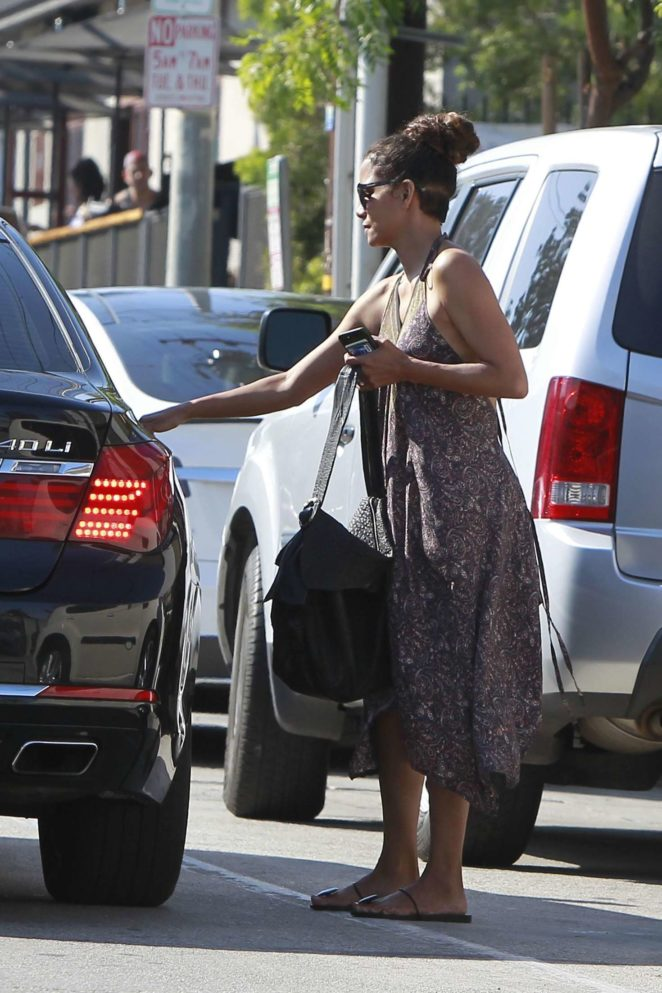 Halle Berry Leaves Gracias Madre -14