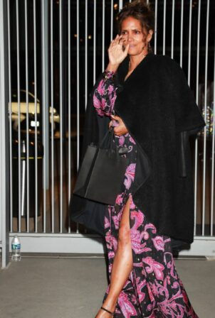 Halle Berry - Leaving the Elle 2021 Woman in Hollywood Event in LA