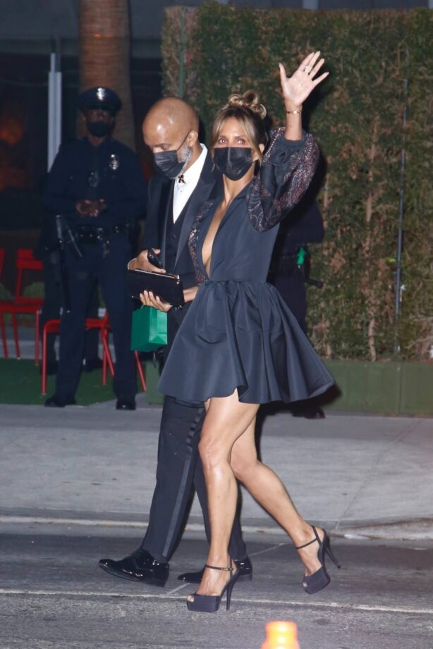 Halle Berry - Opening Gala at The Academy Museum of Motion Pictures in Los Angeles
