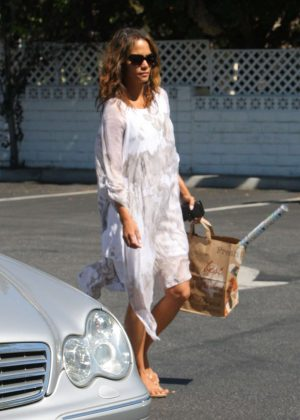 Halle Berry shopping in Beverly Hills