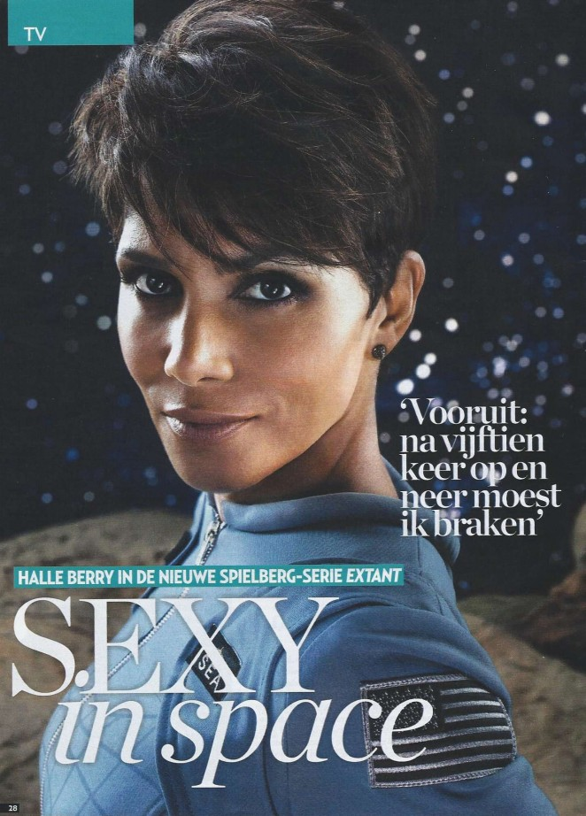 Halle Berry - Veronica TV Magazine (January 2015)