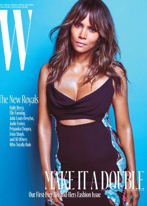Halle Berry - W Magazine Cover (October 2016)