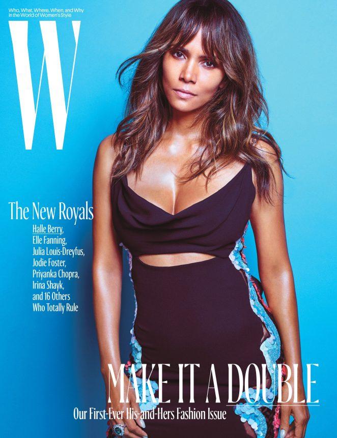 Halle Berry – W Magazine Cover (October 2016)