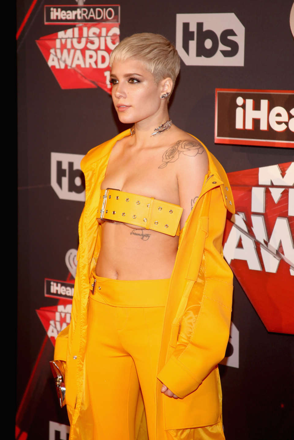 Halsey - 2017 iHeartRadio Music Awards in Los Angeles