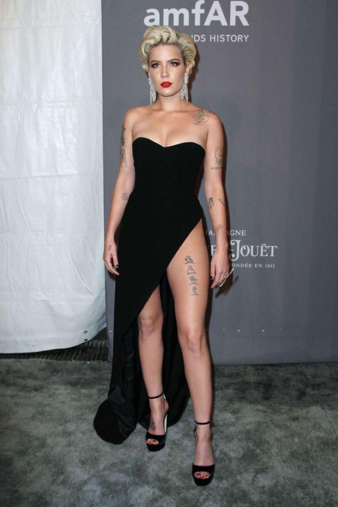 Rita Ora The Singer >> Halsey - 2018 amfAR Gala in New York