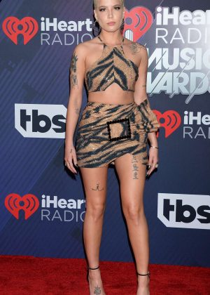 Halsey - 2018 iHeartRadio Music Awards in Inglewood