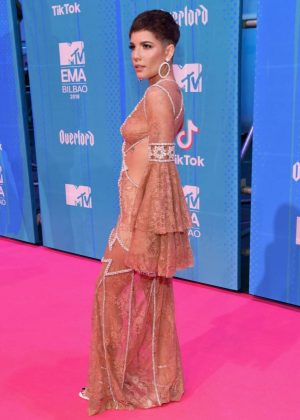 Halsey - 2018 MTV Europe Music Awards in Bilbao