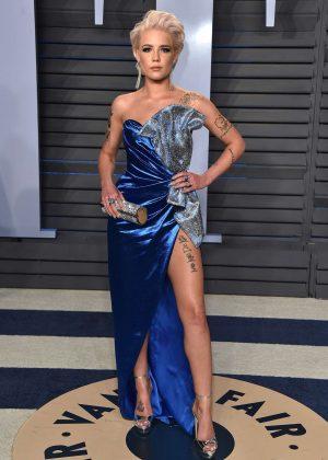 Halsey - 2018 Vanity Fair Oscar Party in Hollywood