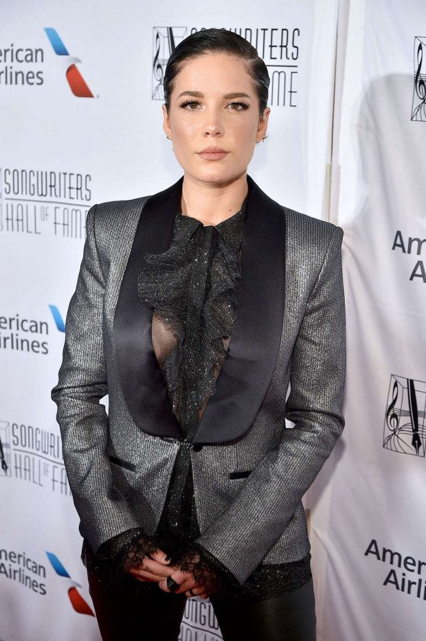 Halsey - 2019 Songwriters Hall Of Fame in New York City