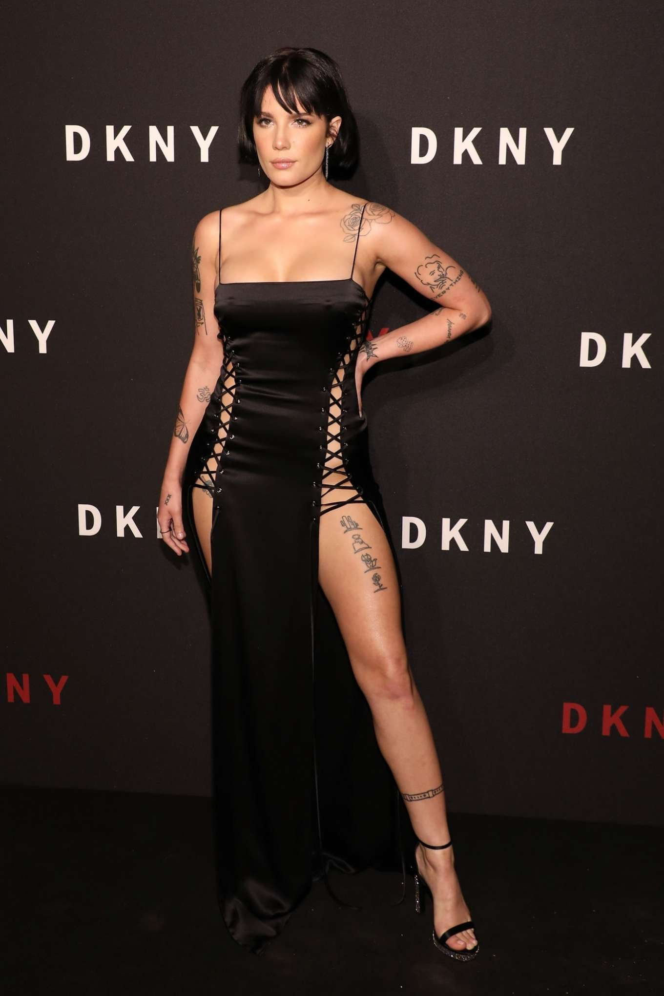 Halsey - 30th anniversary of DKNY Party in NYC