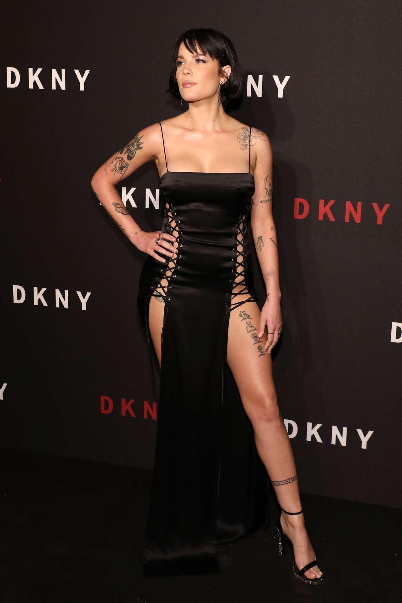 Halsey 2019 : Halsey – 30th anniversary of DKNY Party-05