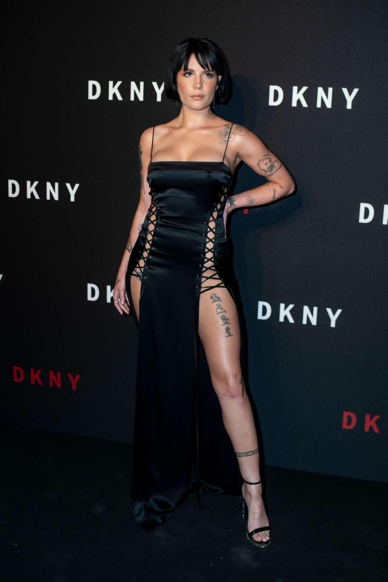 Halsey 2019 : Halsey – 30th anniversary of DKNY Party-06