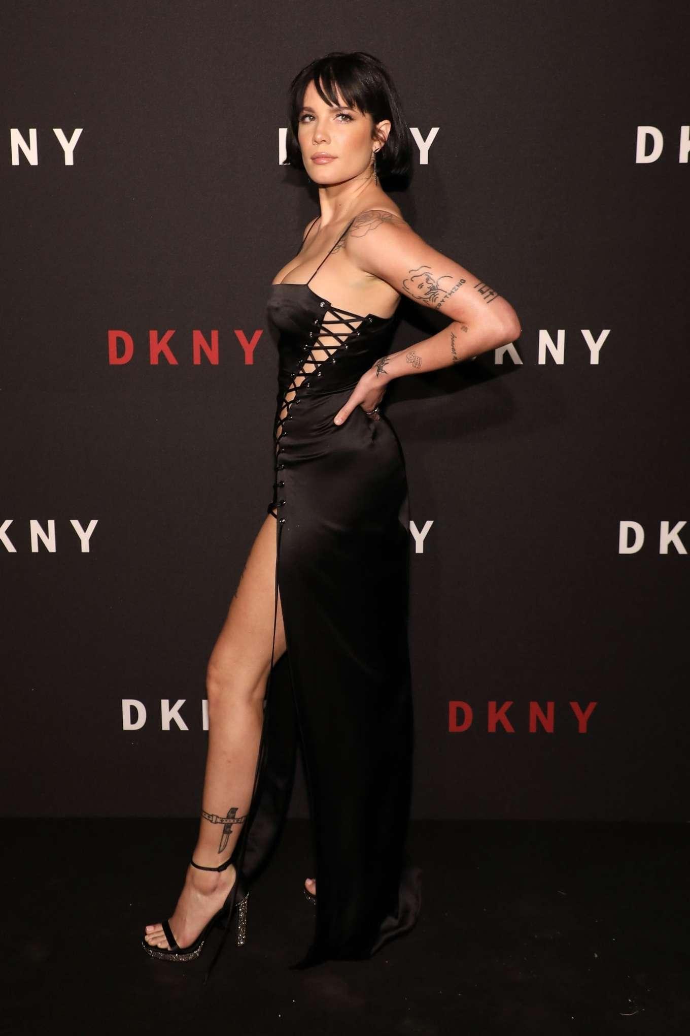 Halsey 2019 : Halsey – 30th anniversary of DKNY Party-10