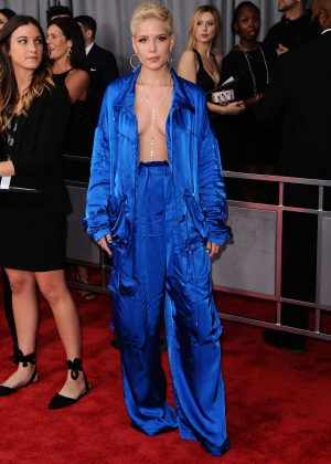 Halsey - 59th GRAMMY Awards in Los Angeles