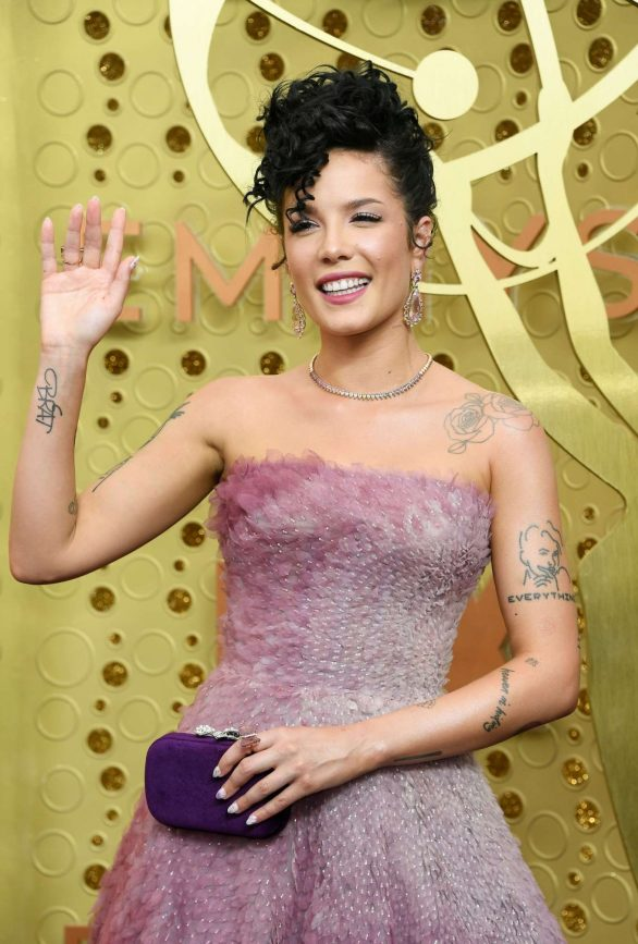 Halsey - 2019 Emmy Awards in Los Angeles