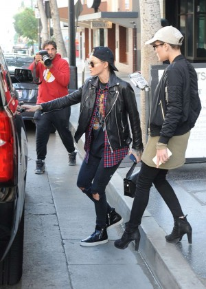 Halsey and Ruby Rose - Out for lunch in Hollywood