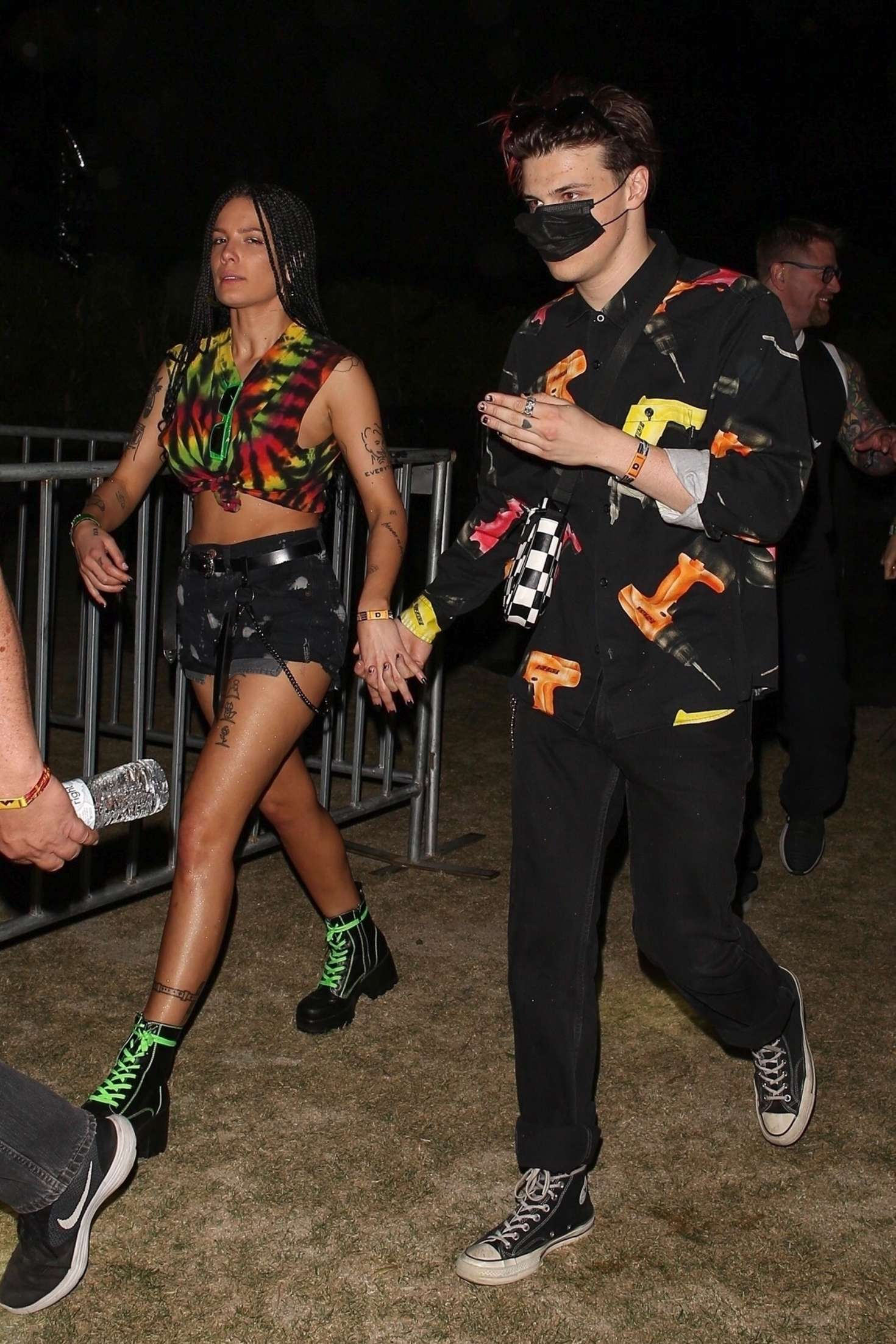 Halsey 2019 : Halsey and Yungblud at Coachella Valley Music and Arts Festival -01