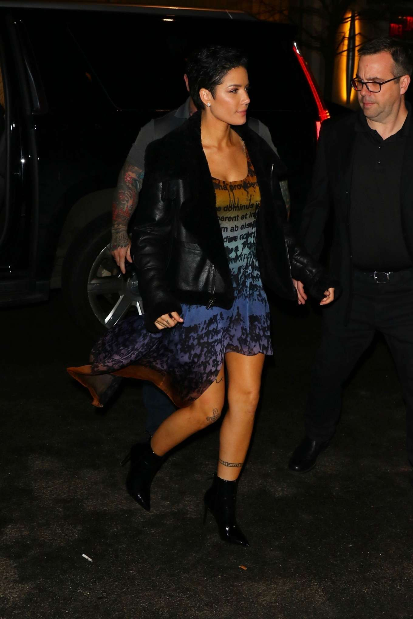Halsey - Arrives at the SNL After Party in New York